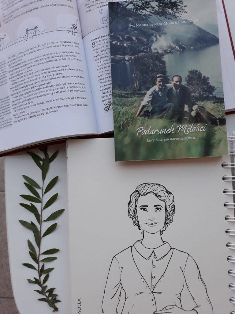"""św. Joanna Beretta Molla - """"Podarunek miłości. Listy z okresu narzeczeństwa"""""""