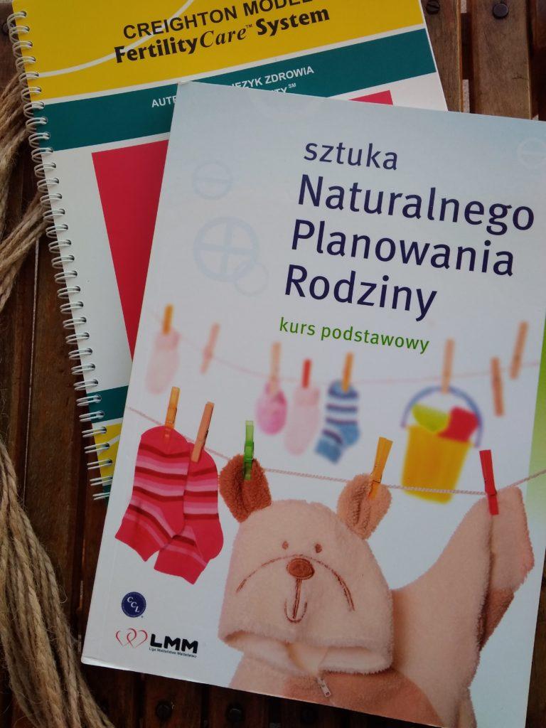 """Książka """"Sztuka naturalnego planowania rodziny"""" LMM"""