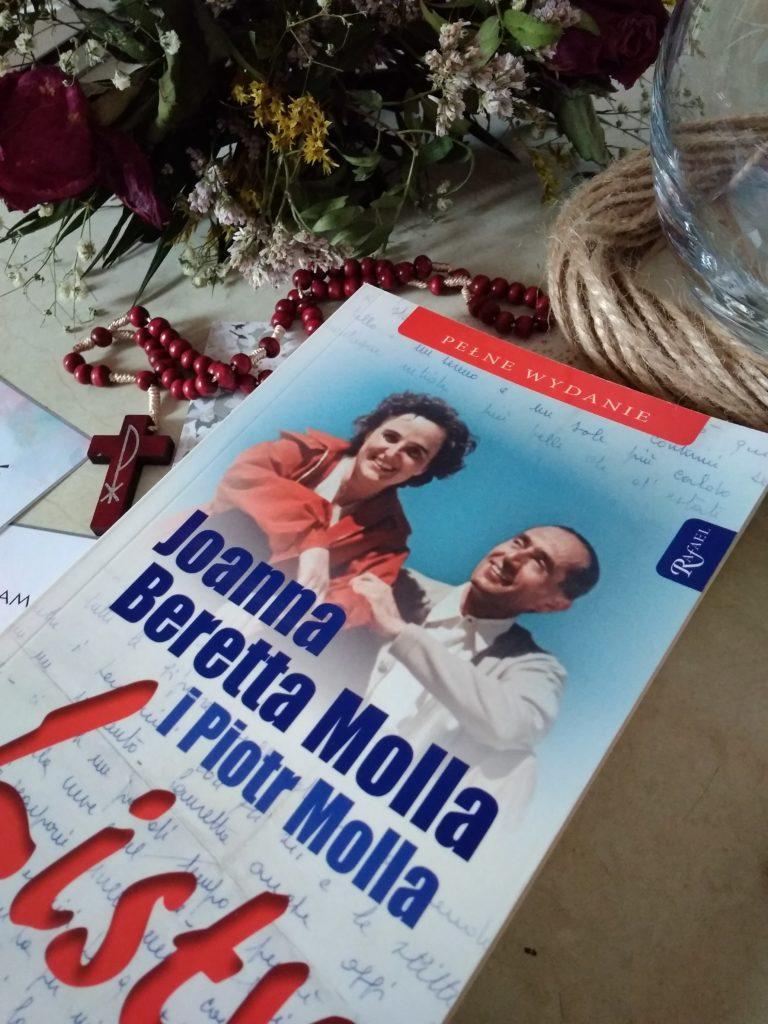 """""""Listy"""" Joanna Beretta Molla i Piotr Molla - książki dla narzeczonych"""